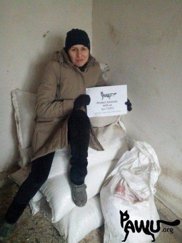 Weizen für Gorlovka im Kriegsgebiet – Ukraine!