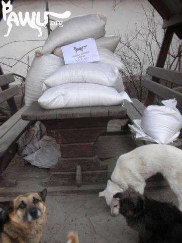 Futter für Lugansk im Kriegsgebiet!