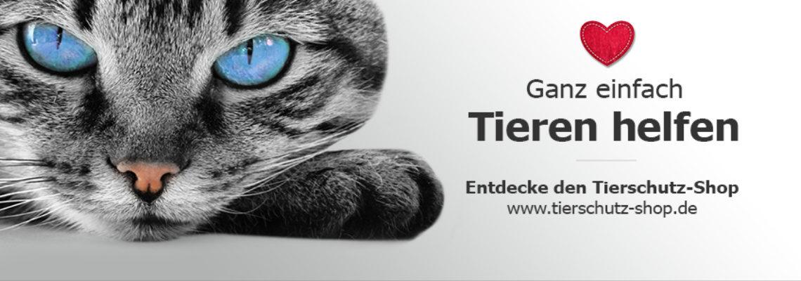 Tierschutz-Shop spendet uns 10%