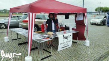 PAWU bei Angel´s Legacy Walk, Gegen Rasselisten in Düsseldorf
