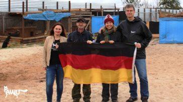 Besuch im Tierheim Rifugio Italia Ukraine
