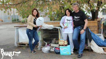 Besuch im Tierheim Sirius in der Ukraine