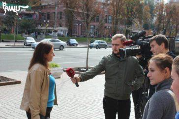 Demo in Kiew gegen Schließung der Tierklinik