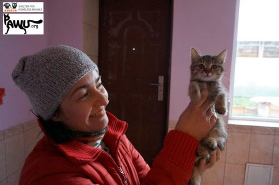 750 Euro Übergabe an das Tierheim Sirius