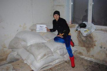 Dringend benötigter Weizen für das Tierheim Gorlovka im Kriegsgebiet der Ukraine!