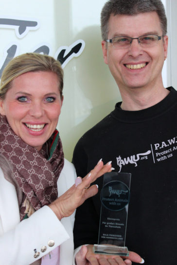 PAWU – Ehrenpreis an Maja Prinzessin von Hohenzollern