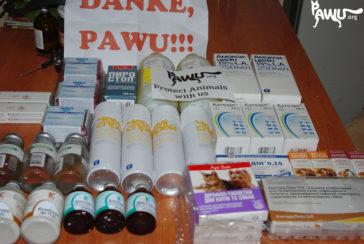 Spenden in Gorlovka angekommen