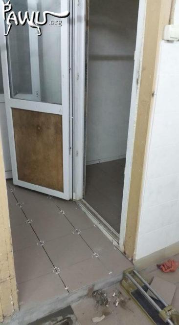 Renovierung in der Tierklinik Kiew