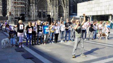 """13.08.2016 – Köln – """"Straßentieren eine Stimme geben"""""""