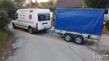 Spendentransport nach Kiew / Ukraine