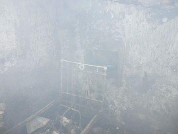 Feuer in Dimitrov-Kriegsgebiet/Ukraine!!!