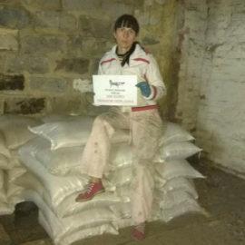 Futter für Gorlovka, Kriegsgebiet / Ukraine