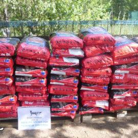 Trockenfutter für das Tierheim Dimitrov im Kriegsgebiet ♥