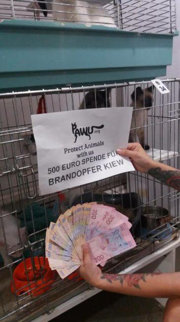 Brandopfer in Kiev